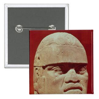 Cabeza colosal, Olmec Pins