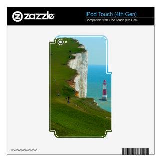 Cabeza con playas calcomanía para iPod touch 4G