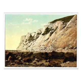 Cabeza con playas de debajo Eastbourne Inglaterr Tarjeta Postal