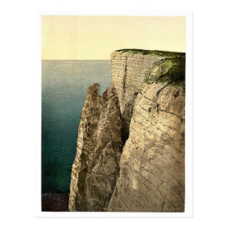 Cabeza con playas desde arriba Eastbourne Inglat Tarjetas Postales
