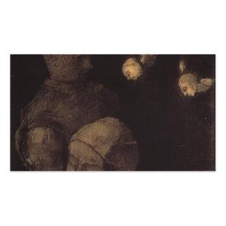 Cabeza cortada de Odilon Redon- Tarjeta De Visita