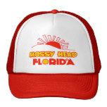 Cabeza cubierta de musgo, la Florida Gorros Bordados