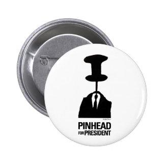 Cabeza de alfiler para el presidente pin