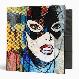 "Cabeza de Batgirl Carpeta 1 1/2"""