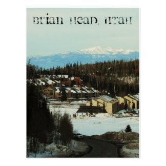 Cabeza de Brian, Utah Tarjetas Postales