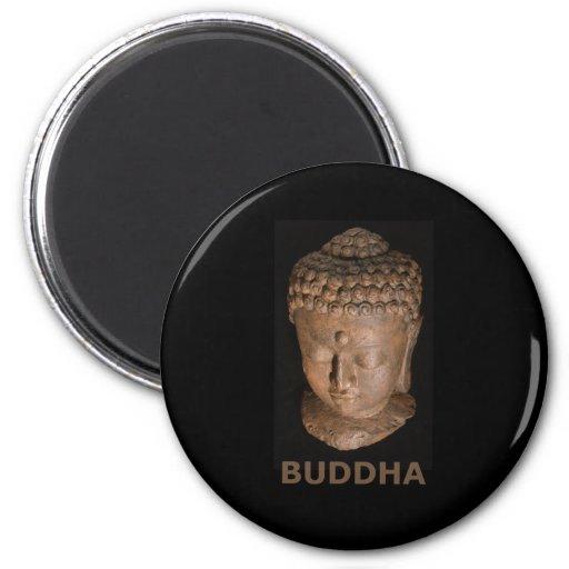 Cabeza de Buda Imán Redondo 5 Cm