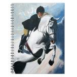 Cabeza de caballo blanco libro de apuntes