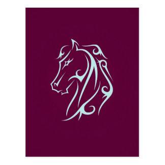 Cabeza de caballo de Aristic Postal