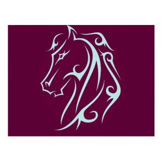 Cabeza de caballo de Aristic Tarjeta Postal