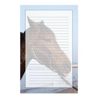 Cabeza de caballo de Brown Papeleria De Diseño
