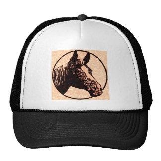 Cabeza de caballo del círculo gorros