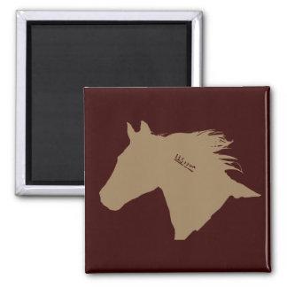Cabeza de caballo del mustango imán de frigorifico