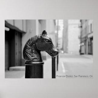 Cabeza de caballo, poster