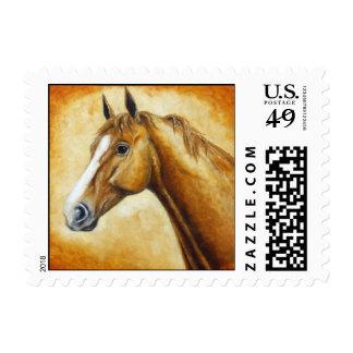 cabeza de caballo sello