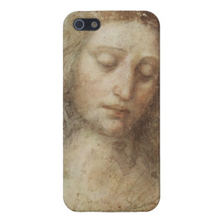 Cabeza de Cristo de Leonardo da Vinci iPhone 5 Funda