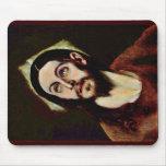 Cabeza de Cristo por el EL de Greco Alfombrilla De Ratón