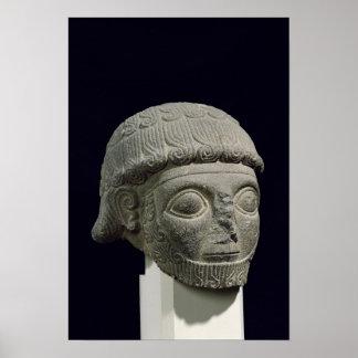 Cabeza de dios, de Barak en Turquía Póster
