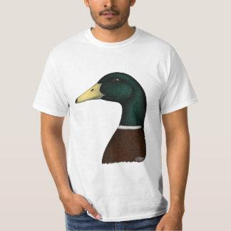 Cabeza de Drake del pato silvestre Poleras
