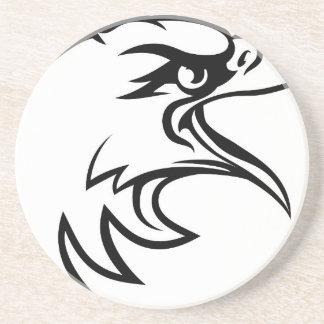 Cabeza de Eagle del lado Posavasos De Arenisca