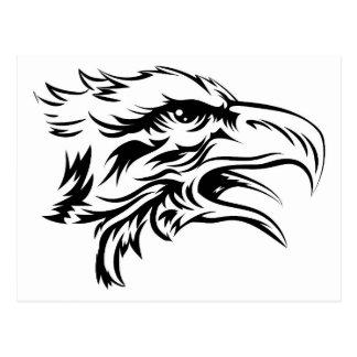 Cabeza de Eagle Postal