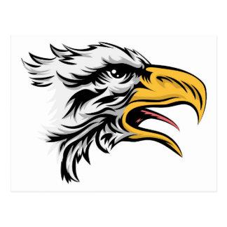 Cabeza de Eagle Tarjeta Postal