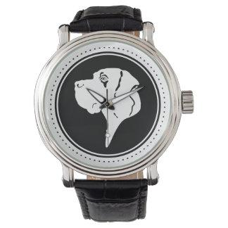 Cabeza de great dane relojes de mano