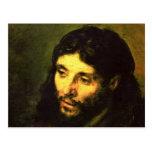 Cabeza de Jesús de Rembrandt