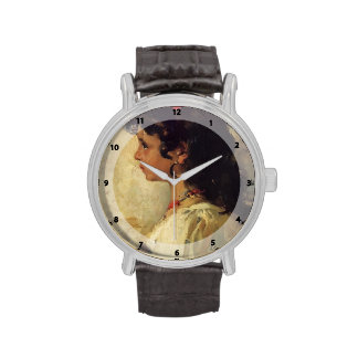 Cabeza de Joaquín Sorolla- de un chica italiano Reloj