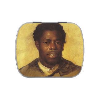 Cabeza de John Singleton Copley- de un negro Jarrones De Caramelos