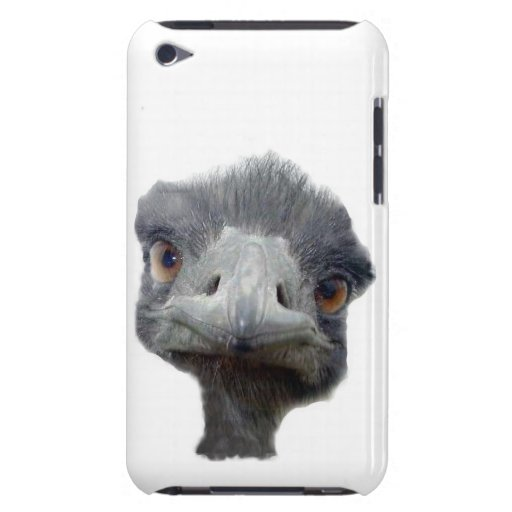 Cabeza de la avestruz iPod touch funda