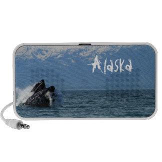 Cabeza de la ballena jorobada; Alaska Mini Altavoces