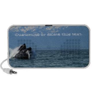 Cabeza de la ballena jorobada; Personalizable Portátil Altavoz