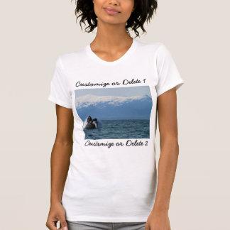 Cabeza de la ballena jorobada; Personalizable Tee Shirt