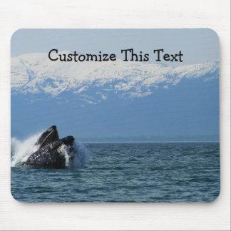 Cabeza de la ballena jorobada; Personalizable Mouse Pad