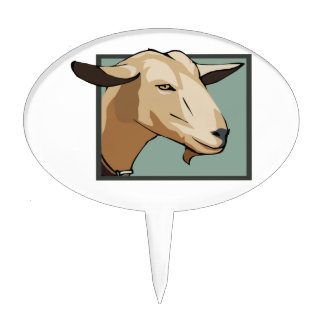 Cabeza de la cabra figura de tarta