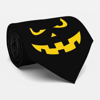 Cabeza de la calabaza corbata personalizada