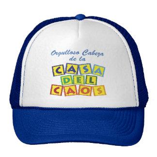 Cabeza de la Casa del Caos Trucker Hat