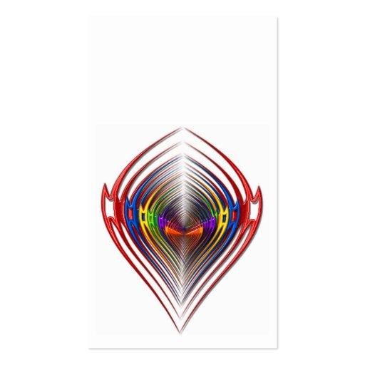cabeza de la flecha tarjeta de visita