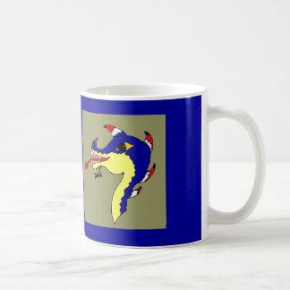 Cabeza de la galera tazas de café