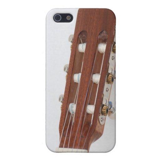 Cabeza de la guitarra iPhone 5 funda