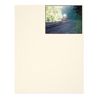 Cabeza de la letra del Tren-OCS 8/22/97 del coche Membrete