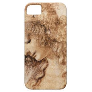 Cabeza de la mujer de Leonardo iPhone 5 Carcasas
