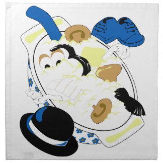 Cabeza de la patata de Mashter (y su cubo de pieza Servilleta De Papel