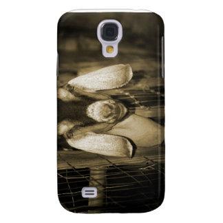 Cabeza de la sepia de la gama de Nubian en salir d Funda Samsung S4