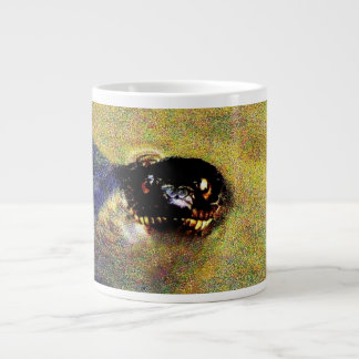 Cabeza de la serpiente taza jumbo