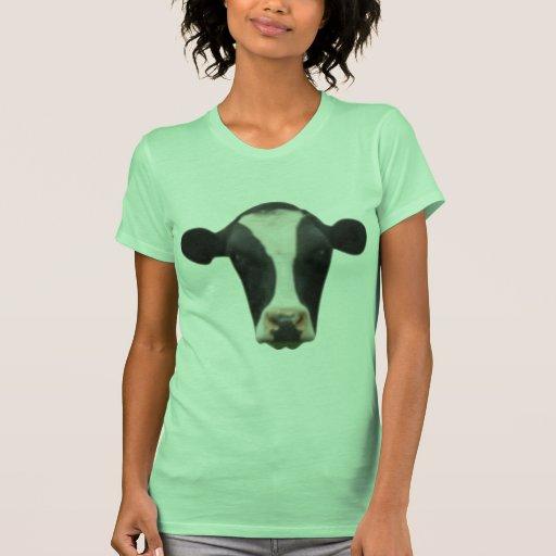 Cabeza de la vaca camiseta