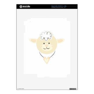 Cabeza de las ovejas iPad 2 skin