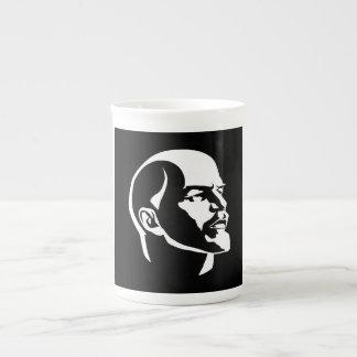 Cabeza de Lenin Tazas De Porcelana