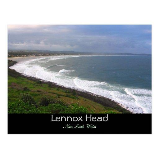 Cabeza de Lennox Postales
