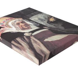 Cabeza de los dispositivos de protección en caso d lienzo envuelto para galerias